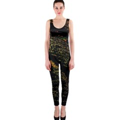 Abstract Background Onepiece Catsuit