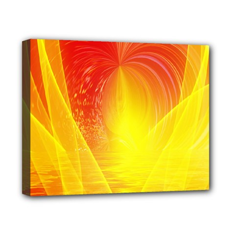 Realm Of Dreams Light Effect Abstract Background Canvas 10  X 8  by Simbadda