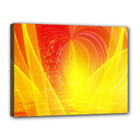 Realm Of Dreams Light Effect Abstract Background Canvas 16  X 12  by Simbadda