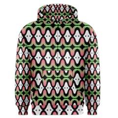Abstract Pinocchio Journey Nose Booger Pattern Men s Zipper Hoodie by Simbadda