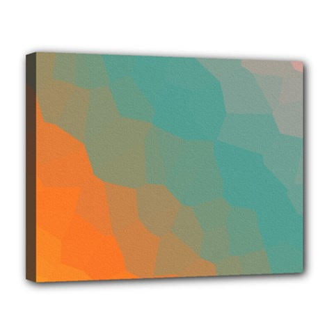 Abstract Elegant Background Pattern Canvas 14  X 11  by Simbadda