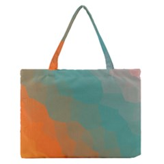 Abstract Elegant Background Pattern Medium Zipper Tote Bag by Simbadda