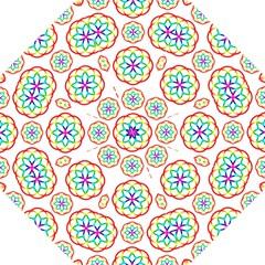 Geometric Circles Seamless Rainbow Colors Geometric Circles Seamless Pattern On White Background Golf Umbrellas