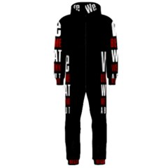 Poster Hooded Jumpsuit (Men)  by chirag505p