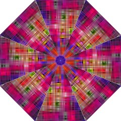 Background Abstract Weave Of Tightly Woven Colors Golf Umbrellas by Simbadda