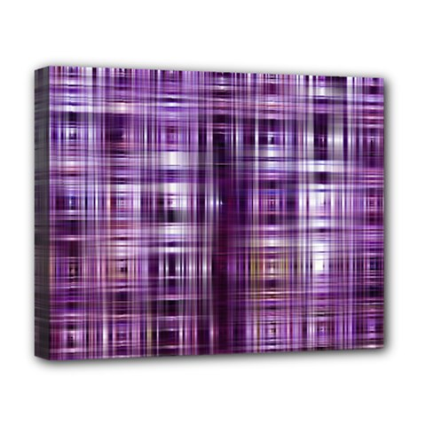 Purple Wave Abstract Background Shades Of Purple Tightly Woven Deluxe Canvas 20  X 16   by Simbadda