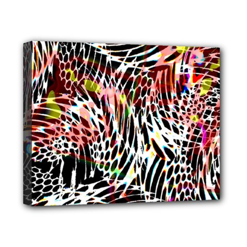 Abstract Composition Digital Processing Canvas 10  X 8  by Simbadda