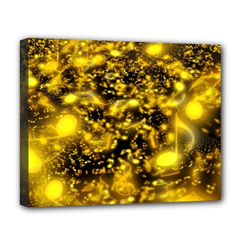 Vortex Glow Abstract Background Deluxe Canvas 20  X 16   by Simbadda