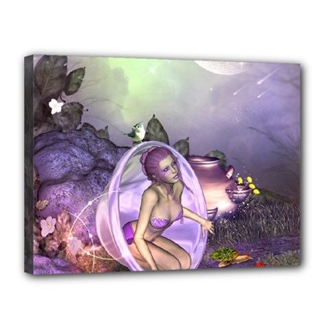 Wonderful Fairy In The Wonderland , Colorful Landscape Canvas 16  X 12  by FantasyWorld7