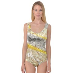 Abstract Composition Pattern Princess Tank Leotard  by Simbadda