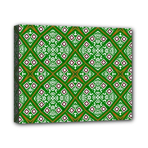 Digital Computer Graphic Seamless Geometric Ornament Canvas 10  X 8  by Simbadda