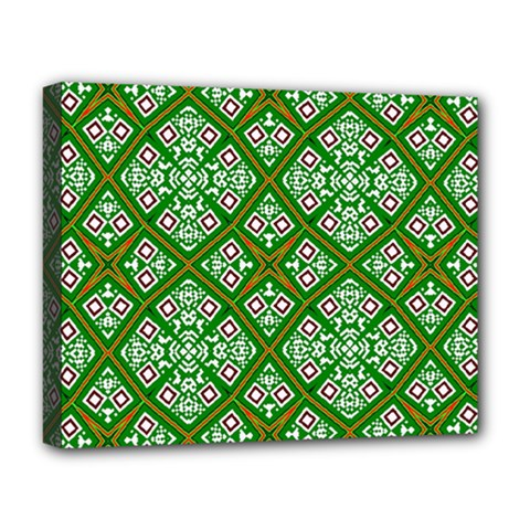 Digital Computer Graphic Seamless Geometric Ornament Deluxe Canvas 20  X 16   by Simbadda