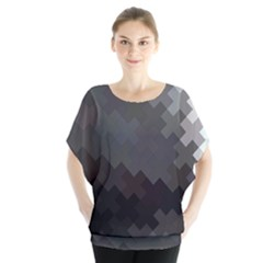 Abstract Pattern Moving Transverse Blouse by Simbadda