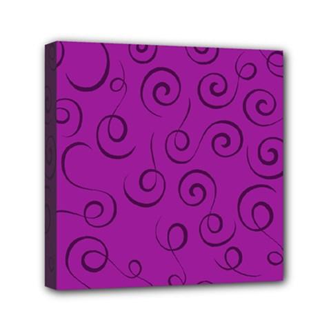 Pattern Mini Canvas 6  X 6  by Valentinaart