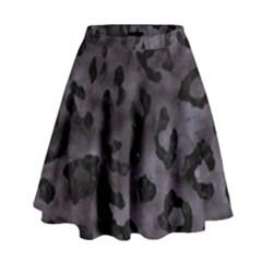 SKN5 BK-MRBL BK-WCLR High Waist Skirt by trendistuff