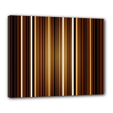 Brown Line Image Picture Canvas 20  X 16  by Mariart