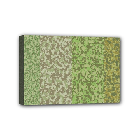 Camo Pack Initial Camouflage Mini Canvas 6  X 4  by Mariart