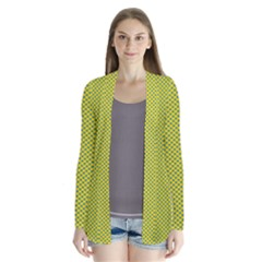 Polka Dot Green Yellow Cardigans