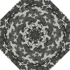 Initial Camouflage Grey Folding Umbrellas by Mariart