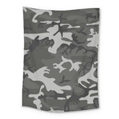 Initial Camouflage Grey Medium Tapestry by Mariart