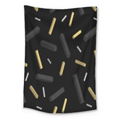 Rectangle Chalks Large Tapestry by Mariart