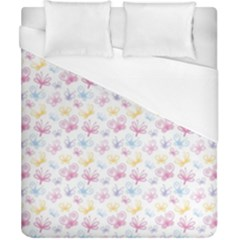 Pretty Colorful Butterflies Duvet Cover (california King Size)