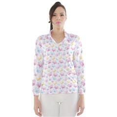 Pretty Colorful Butterflies Wind Breaker (women)