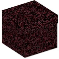 Random Red Black Storage Stool 12   by Mariart