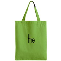 Sign Green The Zipper Classic Tote Bag by Mariart
