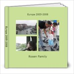 europe book - 8x8 Photo Book (30 pages)