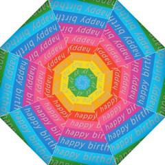Colorful Happy Birthday Wallpaper Golf Umbrellas by Simbadda
