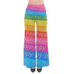 Colorful Happy Birthday Wallpaper Pants