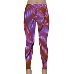 Passion Candy Sensual Abstract Classic Yoga Leggings by Simbadda