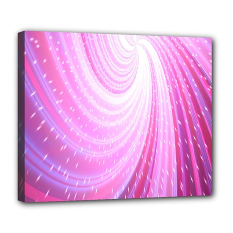 Vortexglow Abstract Background Wallpaper Deluxe Canvas 24  X 20   by Simbadda
