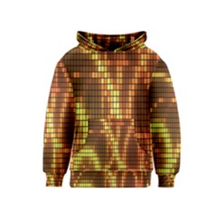 Circle Tiles A Digitally Created Abstract Background Kids  Pullover Hoodie by Simbadda