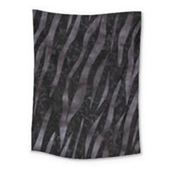 Skin3 Black Marble & Black Watercolor Medium Tapestry by trendistuff