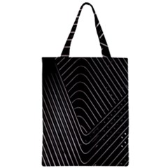 Chrome Abstract Pile Of Chrome Chairs Detail Classic Tote Bag by Simbadda