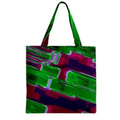 Background Wallpaper Texture Zipper Grocery Tote Bag by Simbadda