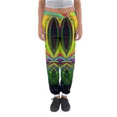 Future Abstract Desktop Wallpaper Women s Jogger Sweatpants