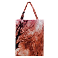 Fire In The Forest Artistic Reproduction Of A Forest Photo Classic Tote Bag by Simbadda