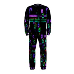 Digital Painting Colorful Colors Light Onepiece Jumpsuit (kids) by Simbadda