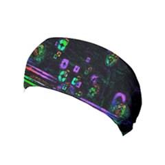 Digital Painting Colorful Colors Light Yoga Headband