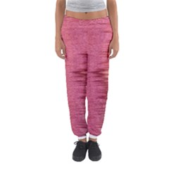 Rectangle Abstract Background In Pink Hues Women s Jogger Sweatpants by Simbadda