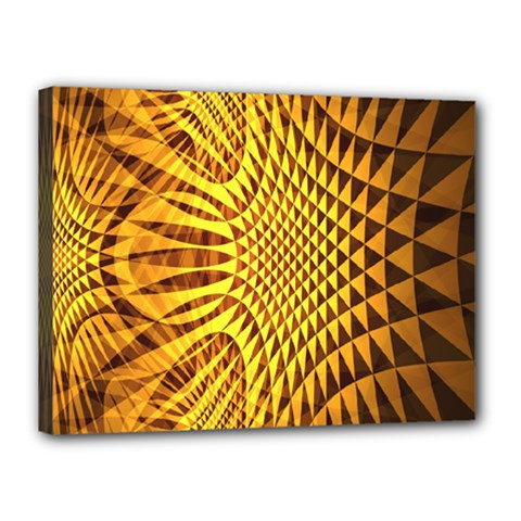 Patterned Wallpapers Canvas 16  X 12  by Simbadda