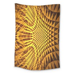 Patterned Wallpapers Large Tapestry by Simbadda