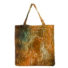 Light Effect Abstract Background Wallpaper Grocery Tote Bag by Simbadda