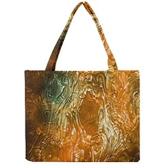 Light Effect Abstract Background Wallpaper Mini Tote Bag by Simbadda