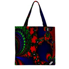 Recurring Circles In Shape Of Amphitheatre Zipper Grocery Tote Bag