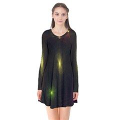 Star Lights Abstract Colourful Star Light Background Flare Dress by Simbadda