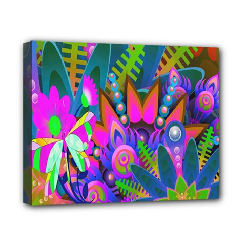 Wild Abstract Design Canvas 10  X 8  by Simbadda